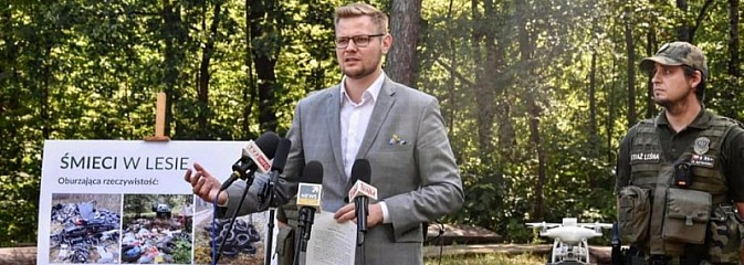 Śmiecisz w lesie? Sąd każe ci posprzątać. Minister Woś wytoczył działa - Serwis informacyjny z Rybnika - naszrybnik.com