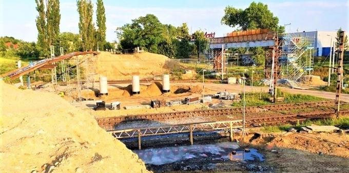 Nowy wiadukt w Rybniku